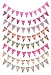 Crystallove Multi Color Birthday Party Flags and Banners of Party Favors & Supplies for Home…