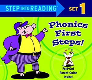 Step into Reading Phonics First Steps, Set 1 (Phonics Boxed Sets) by Jennifer Liberts Weinberg and Ron Lieser