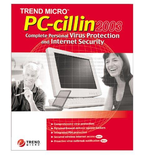 TREND MICR PC-CILLIN 2003 RETAIL 1USER  PCZZWWEAXSBUPNNAB00008AAYO