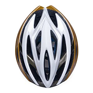 Straßen Gebirgs fahrrad MTB Bike Radfahren Sportschutzhelm für Erwachsenen und Kinder M 53-58cm, gold