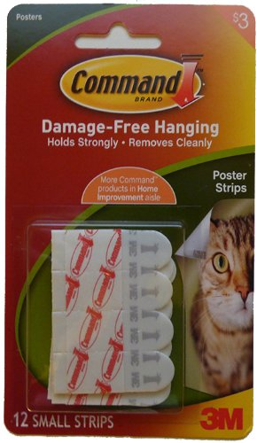 Damage Free Hanging Poster Strips - 1