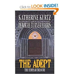 The Templar Treasure (The Adept) by Katherine Kurtz and Deborah Turner Harris