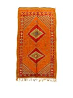 Design Community By Loomier Alfombra Ma Maroc Barber (Naranja/Rojo)