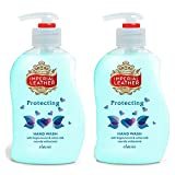 Imperial Leather Classic Protecting Handwash with Forget-me-not & Cotton Milk 300ml (Pack of 2)