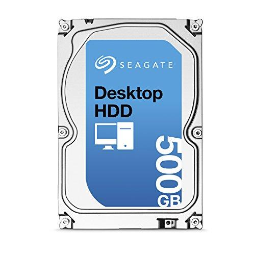Seagate Barracuda ST500DM002 Interne Festplatte 500GB (8,9 cm (3,5 Zoll), 7200 rpm, 16MB Cache, SATA)