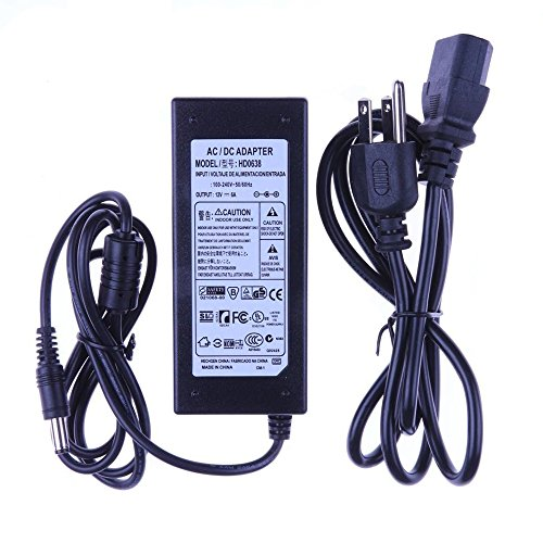 Spevert New 12 Volt 6 Amp 72W Switching Power Supply Adapter - Import It All