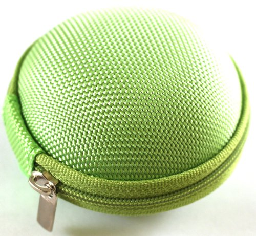 Green Case For Plantronics Backbeat Go , Marque 2 M165 , Marque M155 , M55 M50 M28 M25 M24 M20 , Savor M1100 , M100 Mx100 , Discovery 975 925 Wireless Bluetooth Headset M-165 M-155 M-55 M-50 M-28 M-25 M-24 M-20 M-1100 M-100 Mx-100 Bag Holder Pouch Hold Bo