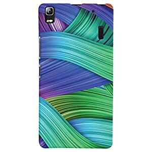 ColourCrust Lenovo K3 Note / A7000 Turbo Mobile Phone Back Cover With Abstract Art - Durable Matte Finish Hard Plastic Slim Case