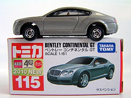 Tomy Tomica No 115 Bentley Continental GT 2010 1/61 - 1