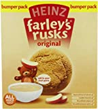 NewBorn, Baby, Heinz Farley's Rusks, Original Flavor, 300g Boxes (Pack of 6) New Born, Child, Kid