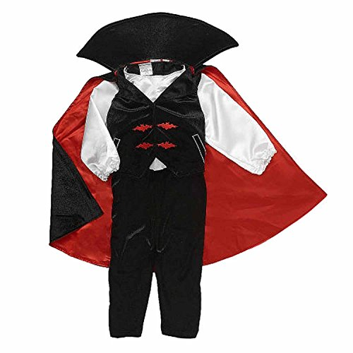 [Koala Kids Infant Boys Vampire Costume with Dracula] (Babies R Us Toddler Halloween Costumes)