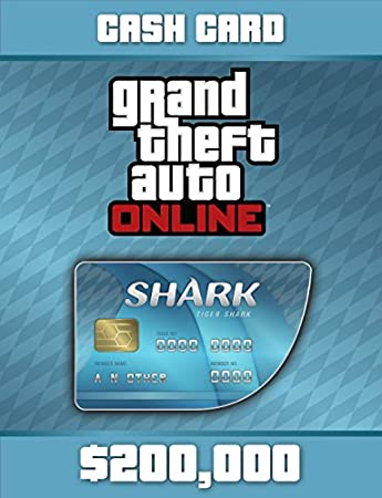 Grand Theft Auto V: Tiger Shark Cash Card - PS4 [Digital Code]