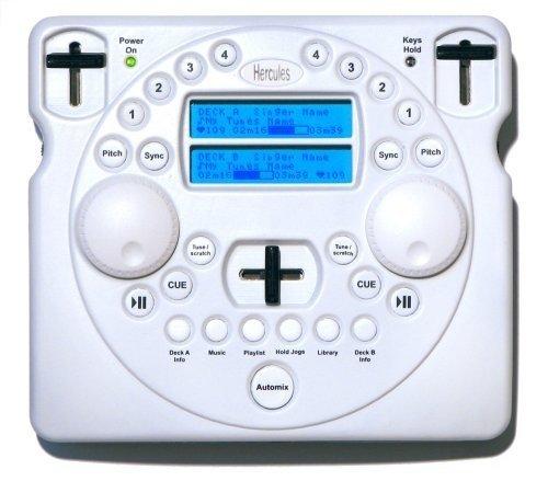 HERCULES MOBILE DJ MP3 / WIRELESS USB DJ SOFTWARE CONTROLLER (Wireless Usb Dj Controller compare prices)