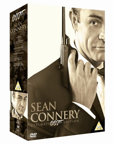 James Bond Ultimate Sean Connery [DVD] [1962]