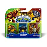 Figurine Skylanders : Swap Force - Battle Pack 1 - Bumble Blast + Knockout Terrafin + Fiery Forge