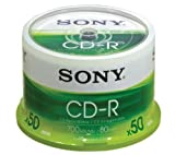 Sony CDQ 80N - CD-R x 50 - 700 MB - storage media
