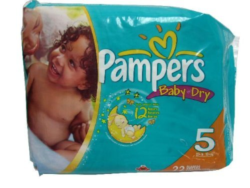 Pampers Diapers Size 5 - 22ct. - 1