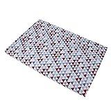 Baby Trend Grey/red/white Hidden Pyramid Play Yard Sheet