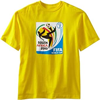 World Cup Soccer 2010 T-Shirt, Yellow, Medium