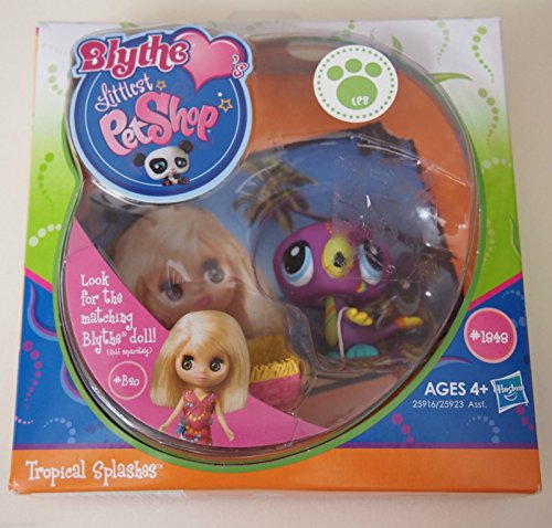 Littlest Pet Shop Blythe Loves Postcard Pets Wave 2 Toucan - 1