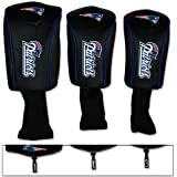 New England Patriots Golf 3 pack MB Headcovers