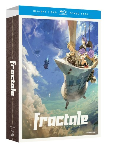 Cover art for  Fractale - The Complete Series (Limited Edition Blu-ray/DVD Combo)