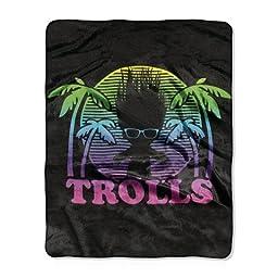 Trolls Multicolored Trolls Throw - 40x50 inches