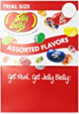 Jelly Belly Jelly Beans, Assorted Flavors, 0.35-Ounce Bags (Pack of 80)