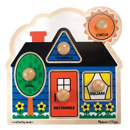 Melissa & Doug First Shapes Jumbo