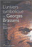 echange, troc Agnès Tytgat - L'univers symbolique de Georges Brassens