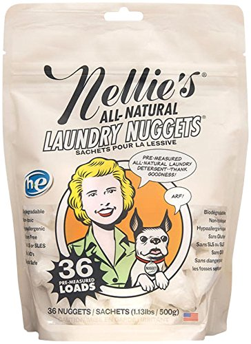 Nellie's All-Natural Laundry Nuggets - 1.13 lb - 36 loads - 1