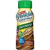 Carnation Breakfast Essentials High Protein Ready-to-Drink, Rich Milk Chocolate, 8 fl oz Bottle, 24 Pack