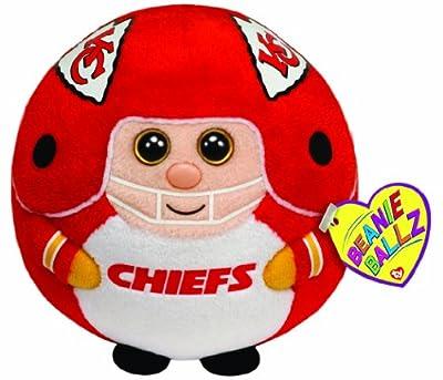 Ty Beanie Ballz Kansas City Chiefs - NFL Ballz