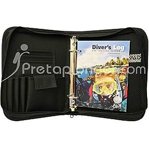 Pack classeur PADI Cordura avec passeport et carnet de plongée Diver's Log