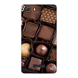 Sweet Choco Pack Back Case Cover for Micromax Unite 3