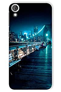 IndiaRangDe Hard Back Cover FOR HTC Desire 820