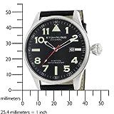 Stuhrling Original Men's 141.33151 Sportsman's 'Eagle' Swiss Quartz Date Watch