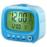 HawksTech TV Shaped Alarm Clock (Blue)