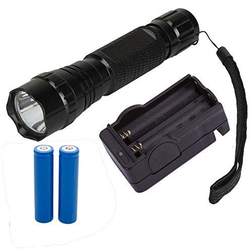Binzet 1000 Lumen Cree Xml Xm-L T6 Led Flashlight Torch + Battery + Charger Power Flashlight Kit