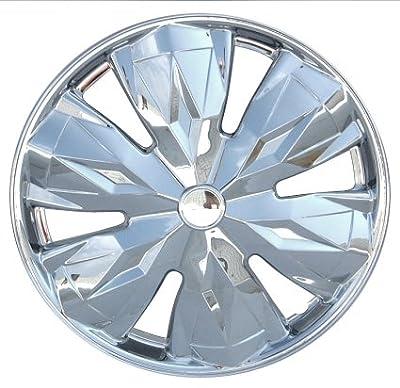 "Drive Accessories KT961-15C 15"" Plastic Wheel Cover, Chrome"
