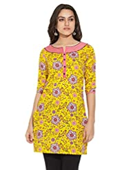 ANAHI Ladies Cotton Printed KURTA - B00QGSQ6J4