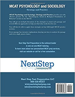 mcat psychology and sociology strategy and practice pdf
