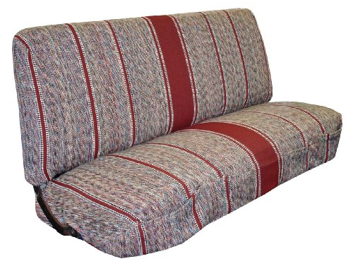 1940'S - 1991 Ford Full Size Truck Bench Seat Covers (Burgundy)