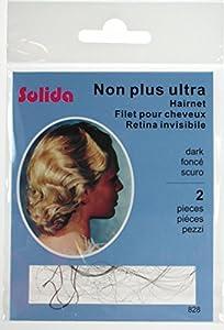Non Plus Ultra Hair Nets Bag 12 - Dark