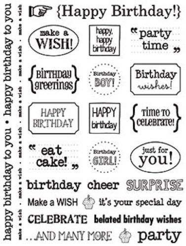 Sticker Sentiment Birthday - 1