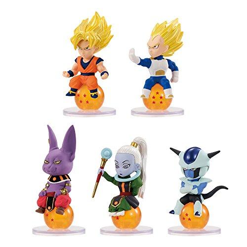 Dragonball Super Charapucchi Figures 6 cm Assortment (10) Bandai Portachiavi