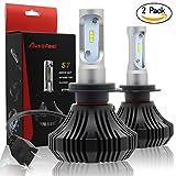 Autofeel 車用LEDヘッドライトバルブ S7 H7 42W 6500K DC9-12V車用 一年保証(H7)