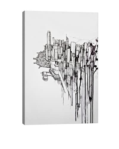 Marc Allante Reclaimed Canvas Print As You See