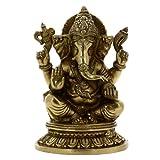 Religi�se Geschenke Dekoration Gott Ganesha Statue Messing