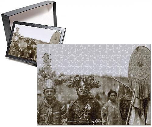 Photo Jigsaw Puzzle of Native Dancers, Mexico (2)